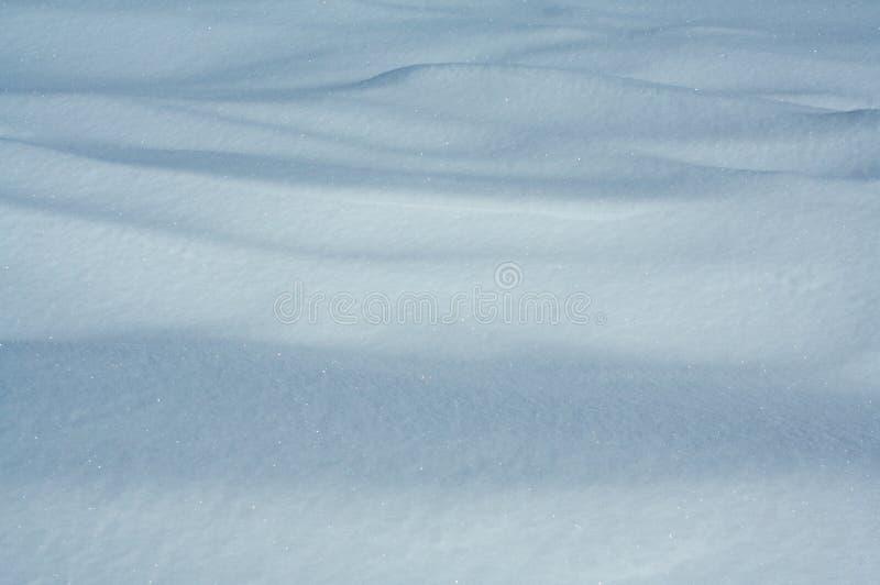 Neve derivada imagens de stock