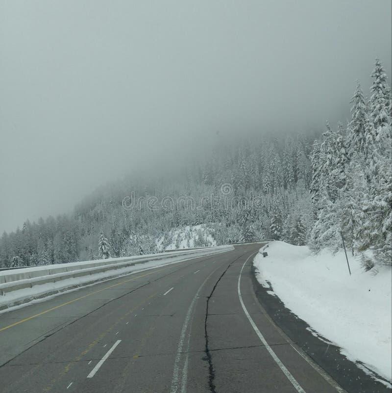 Neve di Mountian immagini stock