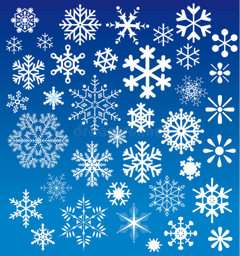 A neve lasc escolhas imagens de stock royalty free
