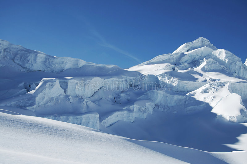 Neve mountain_1 immagini stock