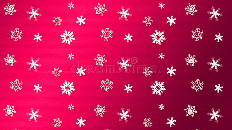 Neve VERMELHA da textura do fundo ilustração do vetor