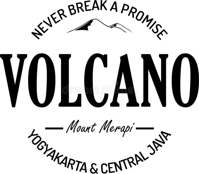Never break a promise vintage logo stock illustration