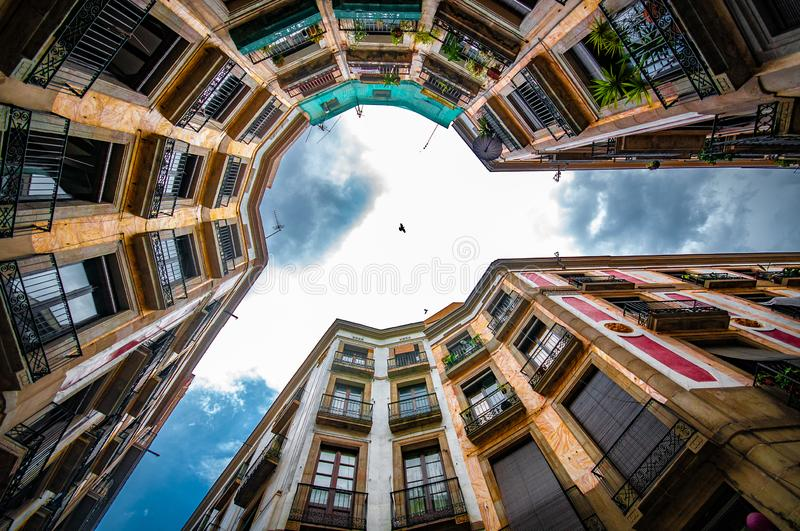 Never forget to look up. royalty free stock photography