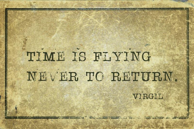 Never to return Virgil royalty free stock image