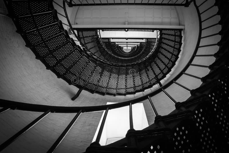 Neverending spiral arkivbild