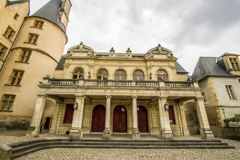 Nevers, Bourgogne, Frankrijk royalty-vrije stock fotografie