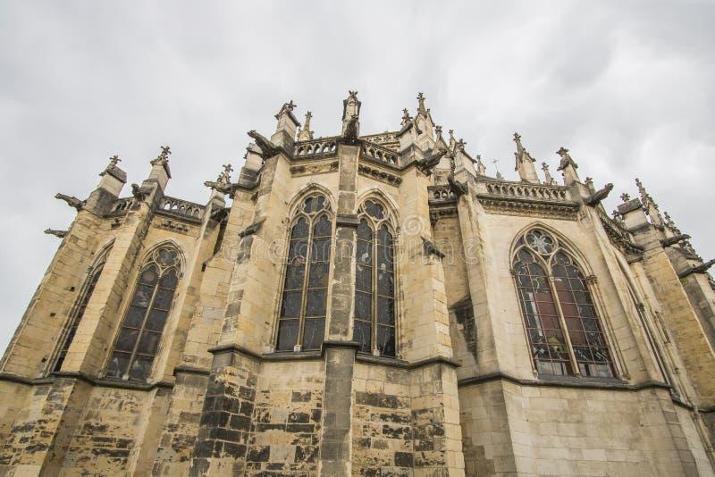 Nevers, Bourgogne, Frankrijk royalty-vrije stock foto