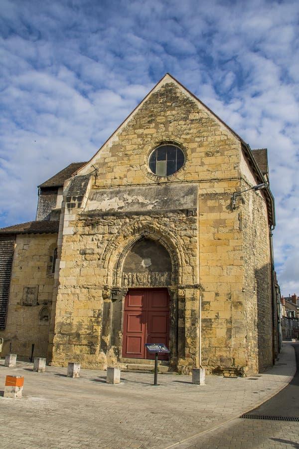 Nevers, Bourgogne, Frankrijk royalty-vrije stock foto's