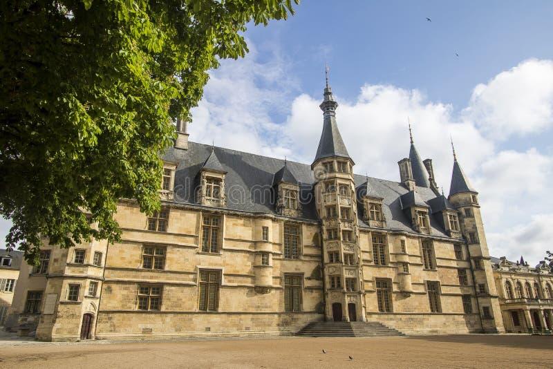 Nevers, Bourgogne, Frankrijk stock foto