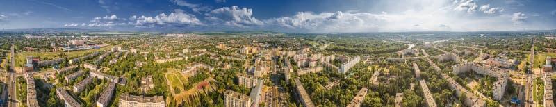 Nevinnomyssk Rusland, het Stavropol-gebied Mening van de hoogte royalty-vrije stock foto