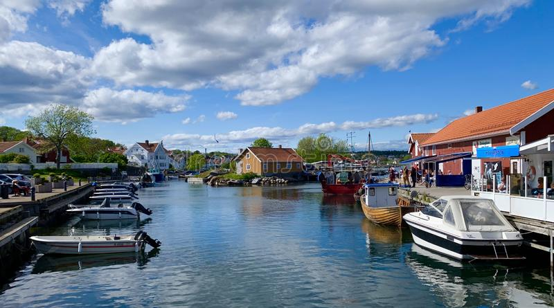 Nevlunghavn fotografía de archivo libre de regalías