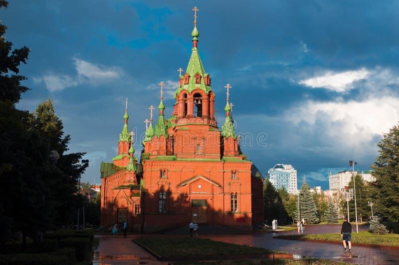 nevsky亚历山大的教会 库存图片