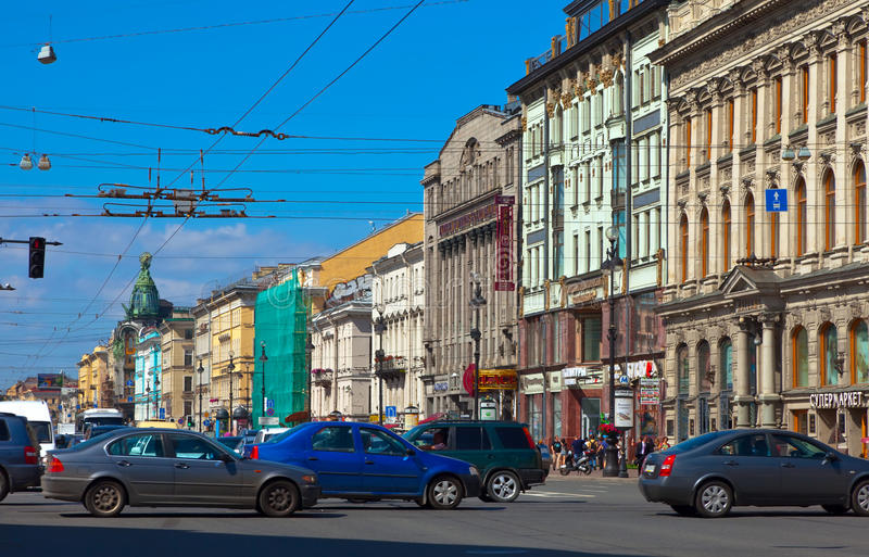 Download Nevsky Prospect In Saint Petersburg Editorial Photography - Image: 27845617