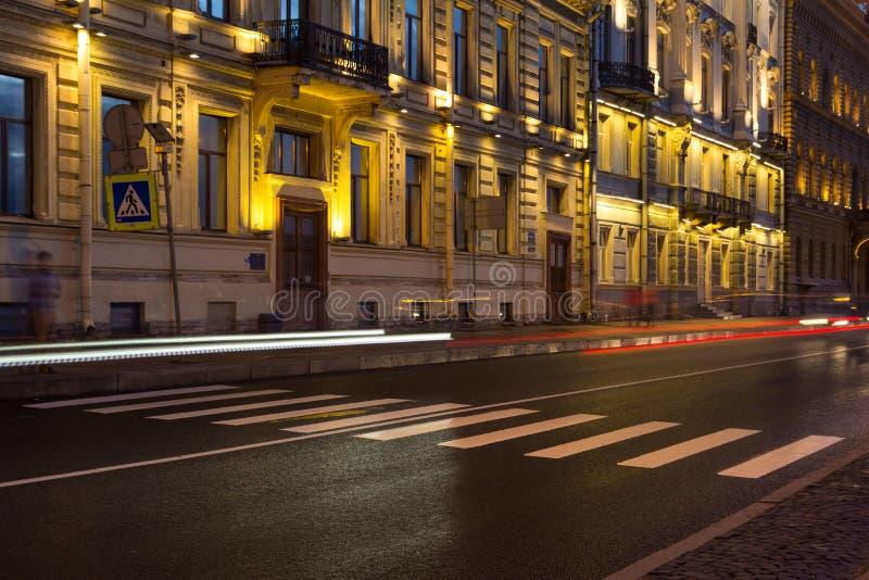 Nevsky Prospekt, St. Petersburg, Rusland royalty-vrije stock afbeeldingen