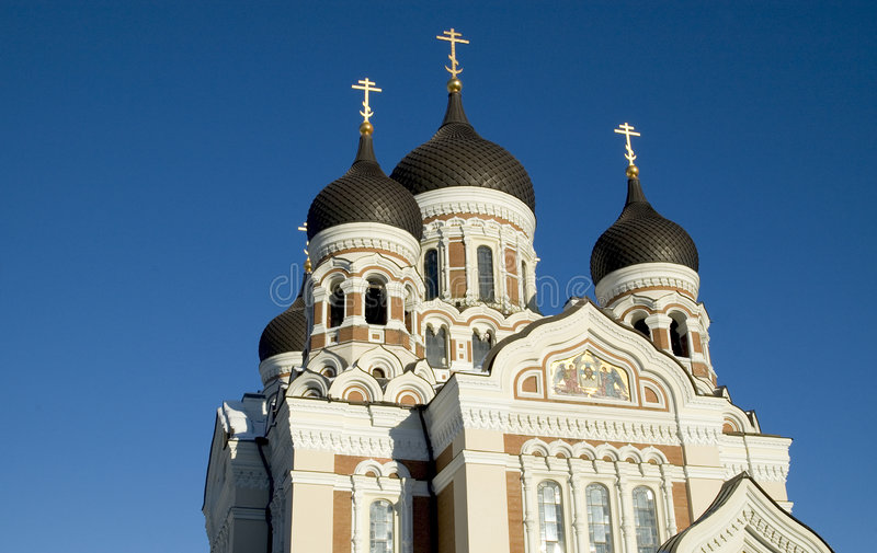Download A. Nevsky's Catherdral stock image. Image of building, estonia - 83521
