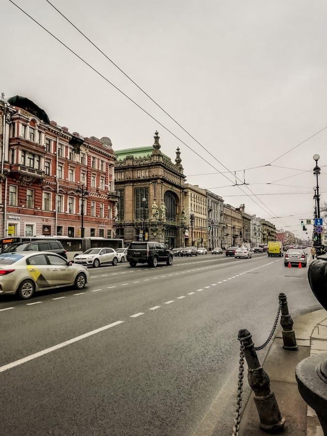 Nevsky utsikt royaltyfria foton