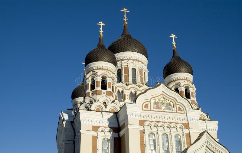 A. Nevskys Catherdral Stockbild