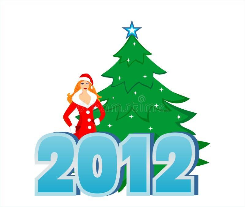 New 2012 royalty free stock photos