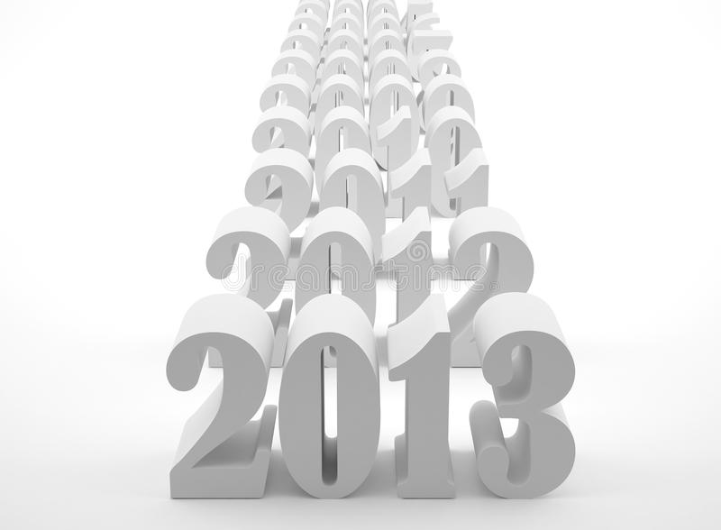 Download New 2013 year stock illustration. Image of date, celebration - 26325820