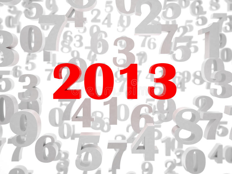 Download New 2013 year stock illustration. Illustration of background - 26535588