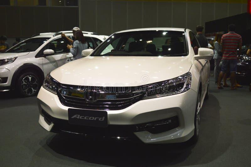 New Accord - Honda Thailand of FAST Auto Show Thailand 2016 royalty free stock photography
