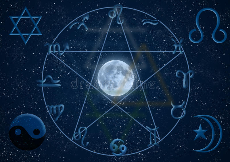 Download New Age Symbols Royalty Free Stock Photos - Image: 19996378
