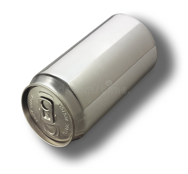 A New Aluminum Can stock photography