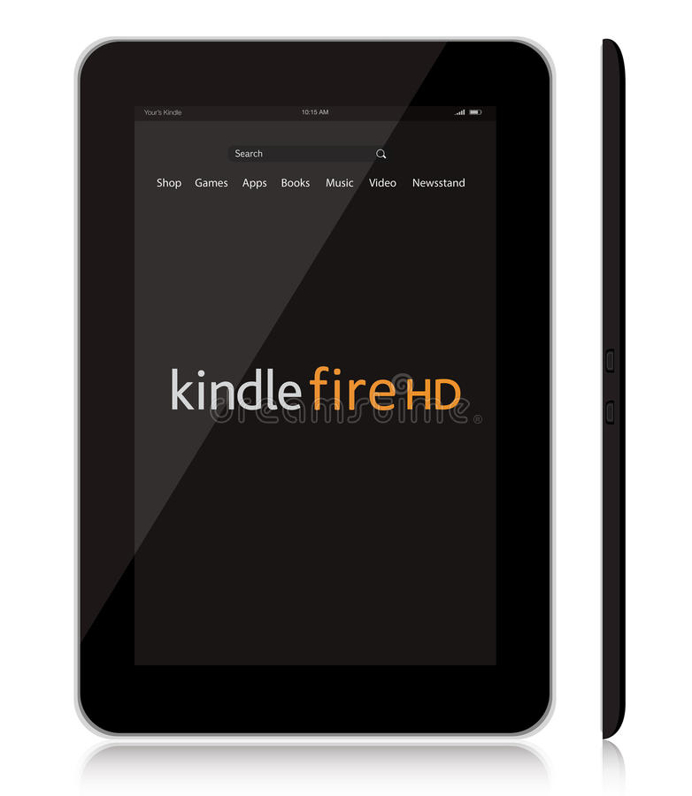 Free New Amazon Kindle Fire HD Tablet Stock Photos - 26486783