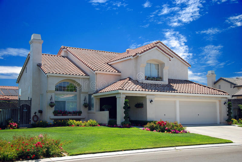 Download New American dream home stock photo. Image of house, life - 13093408