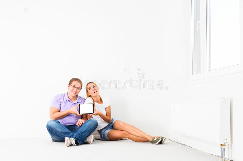 New apartment stock photography