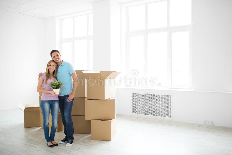 In new apartment stock images