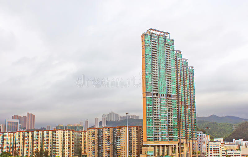 New apartments in Hong Kong. royalty free stock images