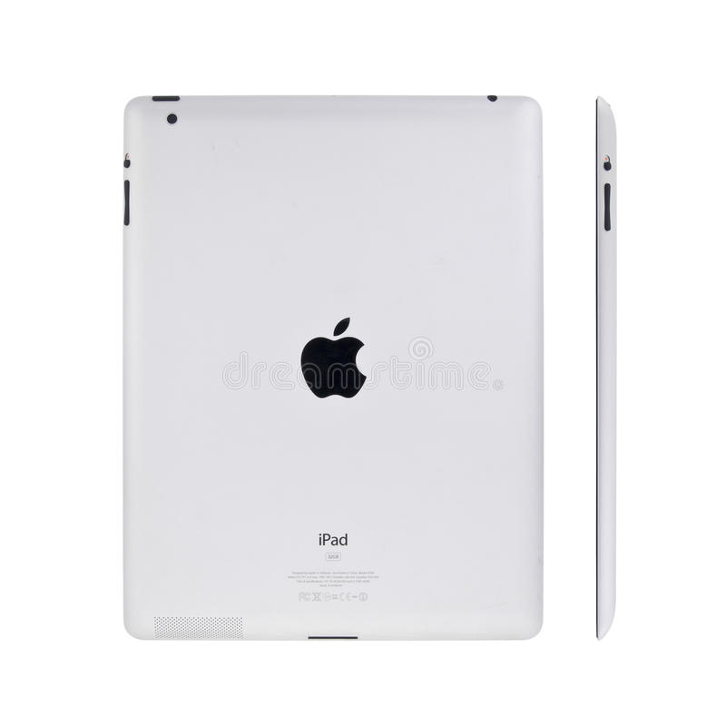 Download New Apple iPad2 editorial stock image. Image of information - 19979369