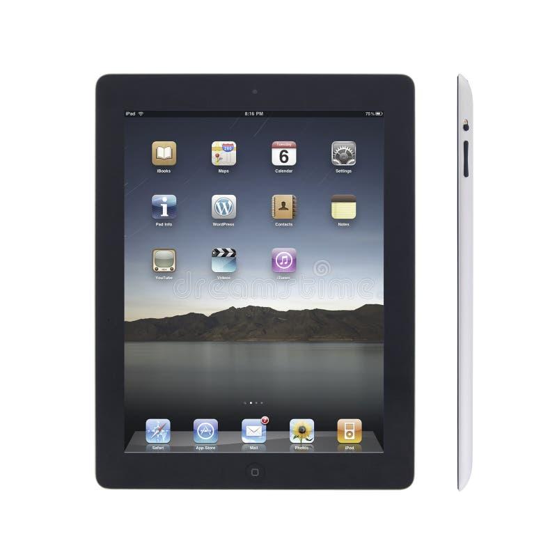 New Apple iPad2 royalty free stock photo