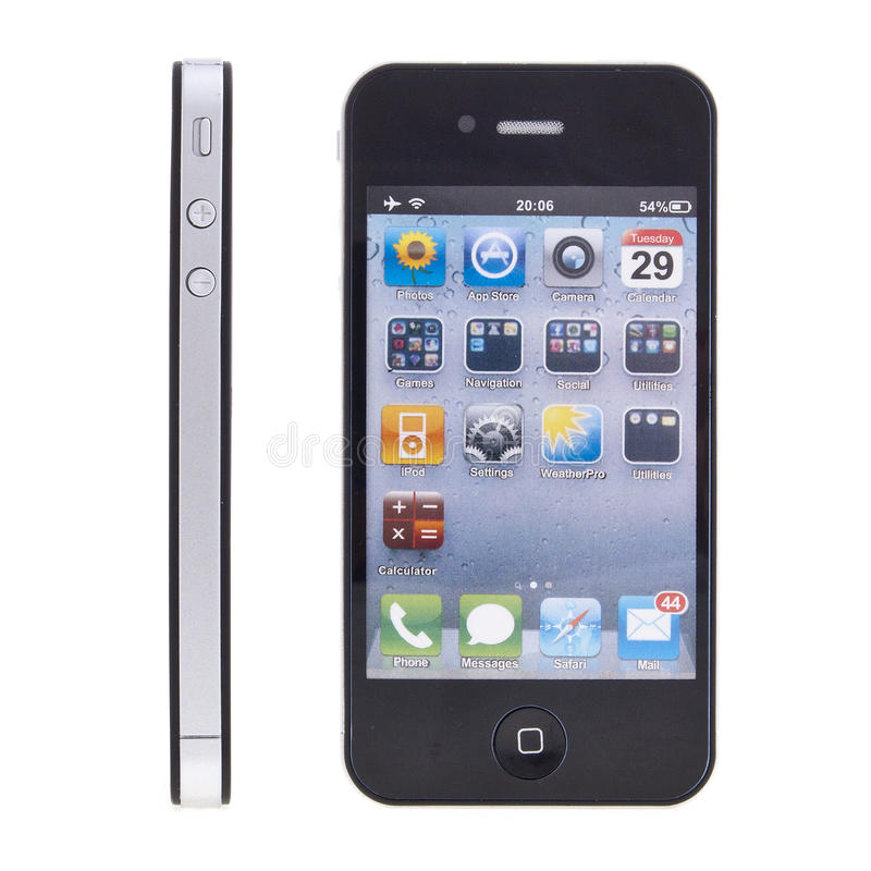 Free New Apple IPhone 4 Royalty Free Stock Photography - 18364307