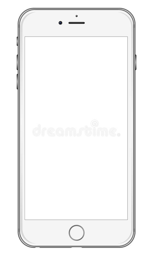 iphone 6 template new apple iphone 6 white editorial stock image 11428