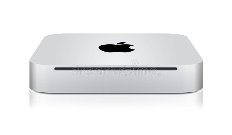 New Apple Mac Mini vector illustration