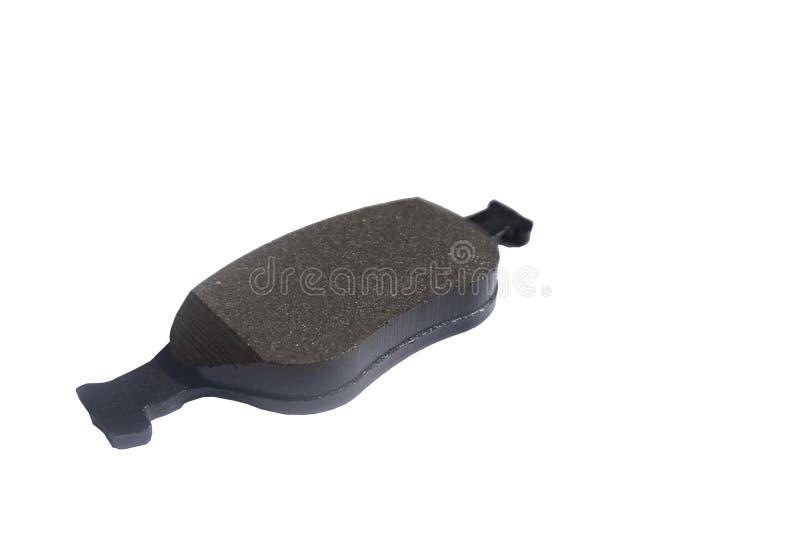 New auto brake pad isolated on white background stock images