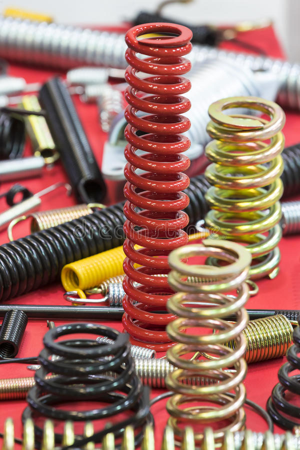 New auto parts for cars royalty free stock photos