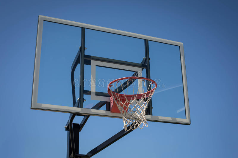 New Basketball Hoop royalty free stock images