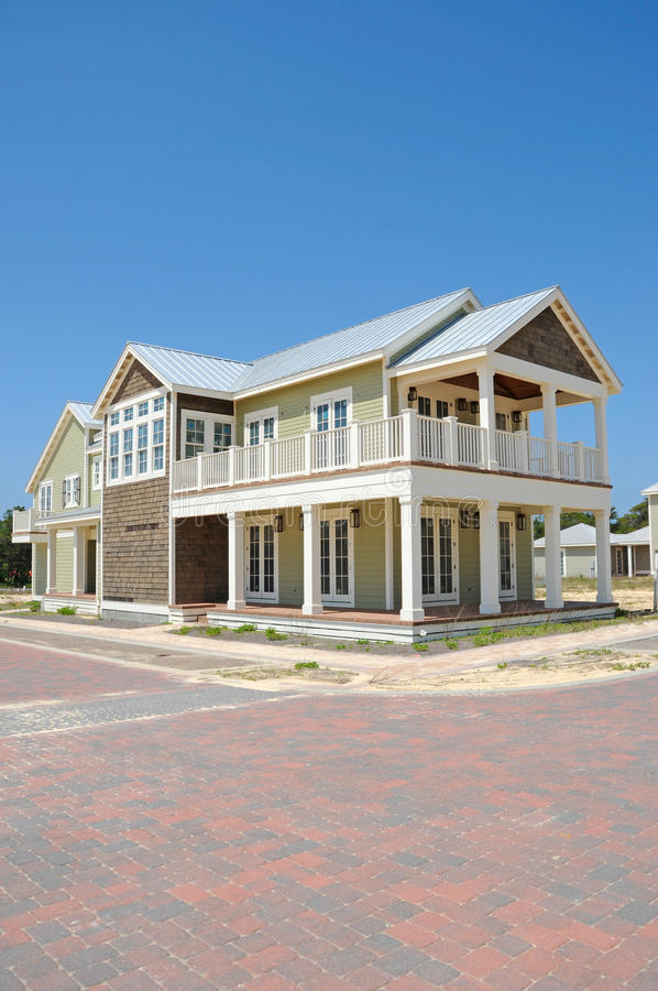 Free New Beach House In Construction Royalty Free Stock Image - 14522116