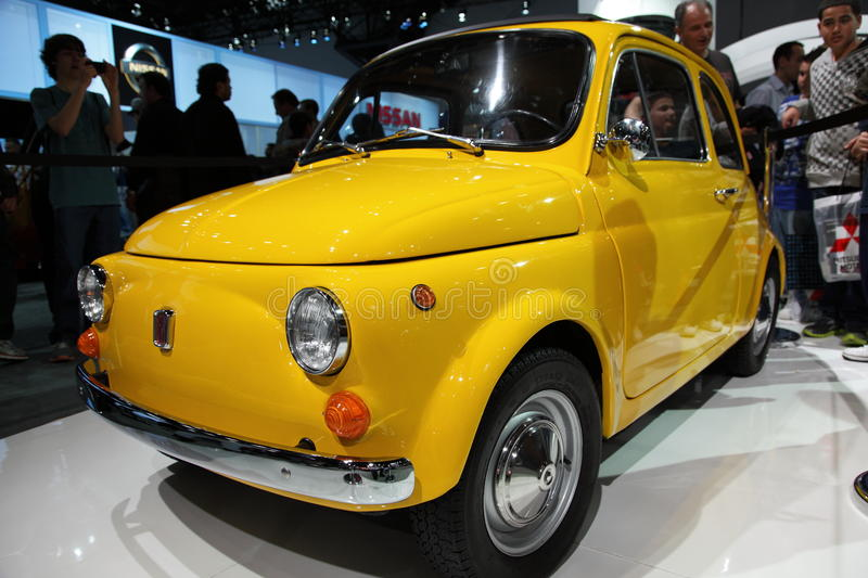 Download New Fiat At NY International Auto Show Editorial Photography - Image: 19268937