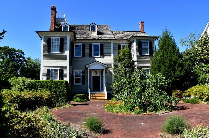 New Bern, NC: 1835 Dixon House stock photos