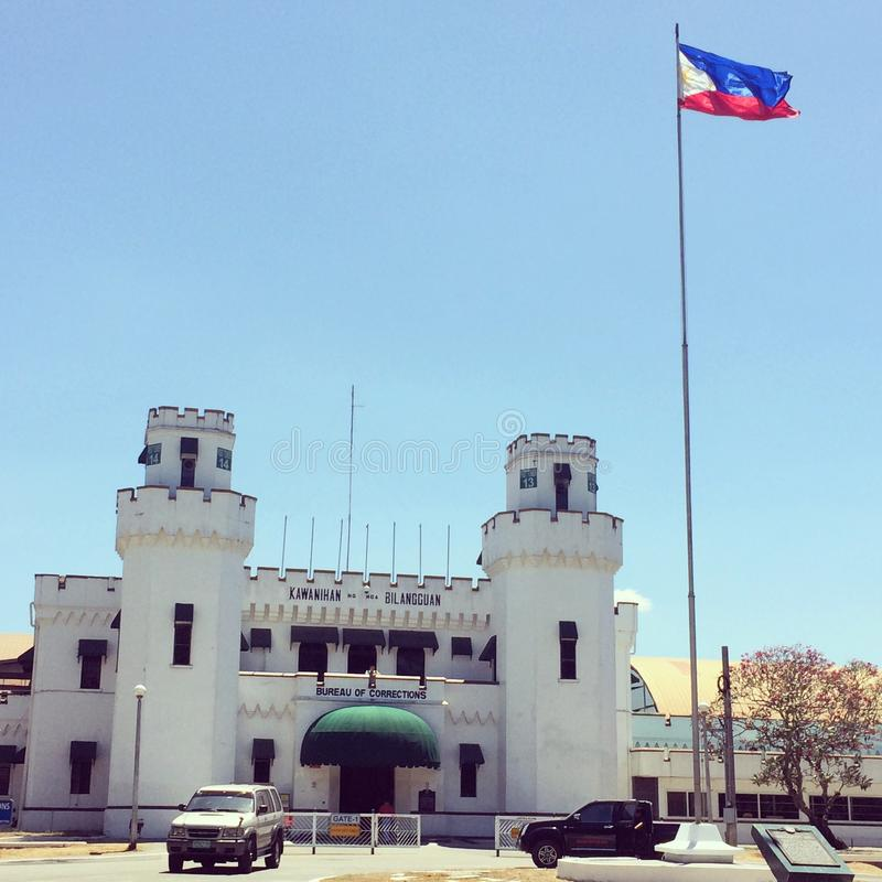 New Bilibid Prison. The main penitentiary in the Philippines stock photography