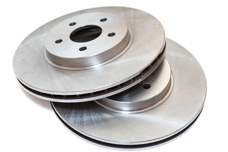 New Brake Discs Stock Image