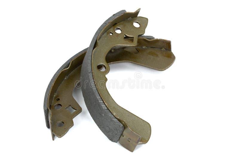 New brake pads drum brake () royalty free stock images