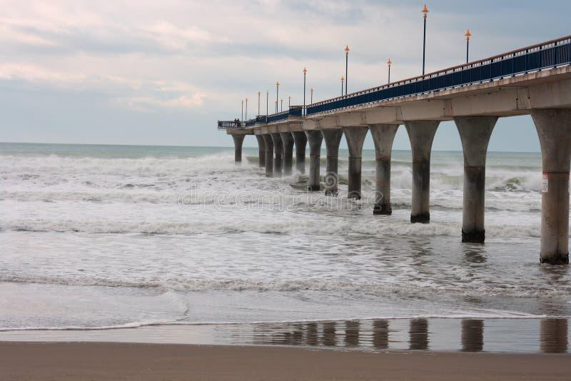 Download New Brighton Pier stock image. Image of lights, ocean - 15055167