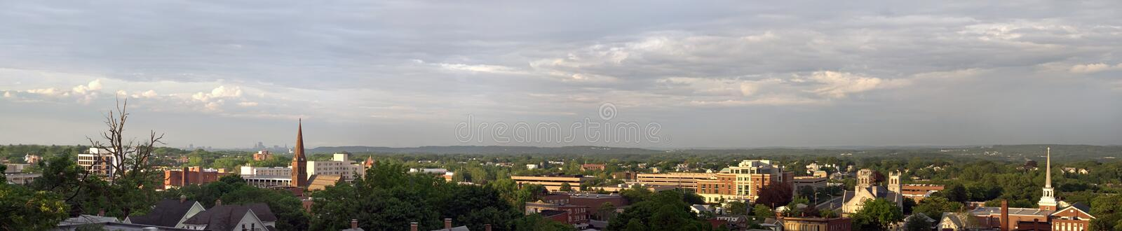 New Britain Connecticut Panorama royalty free stock images
