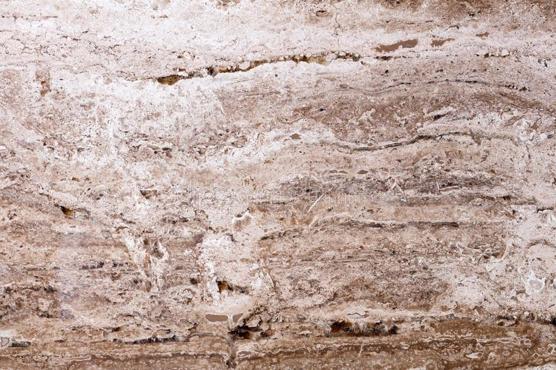 New brown travertine background as part of your unusual design. High quality texture. stock photos
