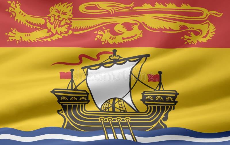New Brunswick Flag Royalty Free Stock Photos